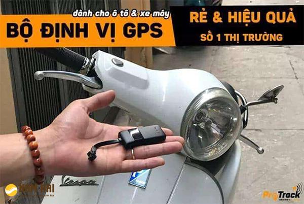 Định vị xe máy mini VT02S