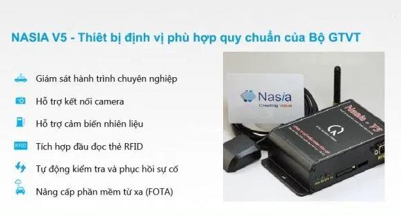 giám sát hành trình Nasia V5