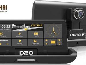 Thiết bị dẫn đường ô tô tốt nhất Vietmap D20
