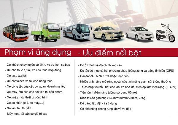 định vị ô tô taxi