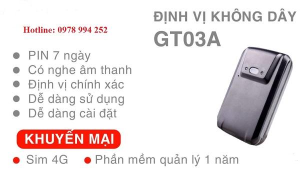 thiết bị định vị GT03A